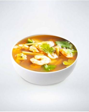 Soupe fruits de mer