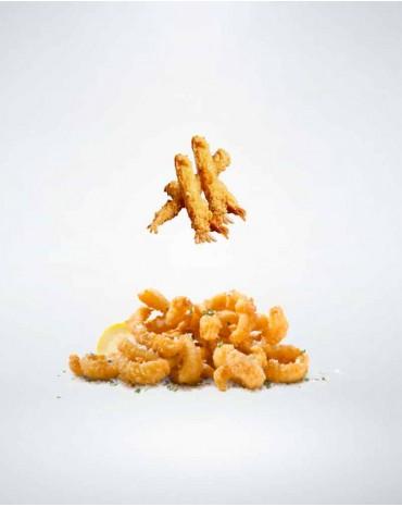 Fruits de mer tempura